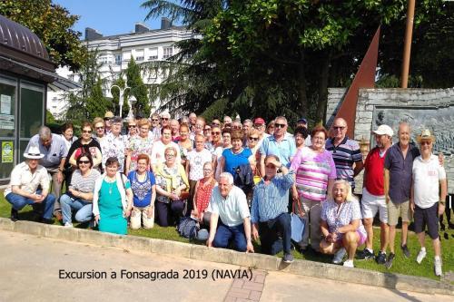 foto excursión fonsagrada 2019